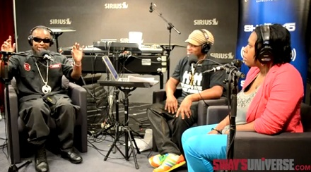 Strange Music Performs Live On Sway In The Morning