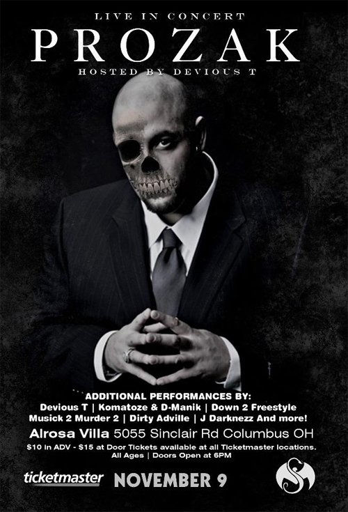 Prozak Live In Columbus, OH - November 9