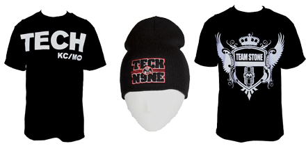 New Strange Music Merchandise