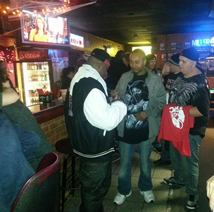 Stevie Stone With Fans