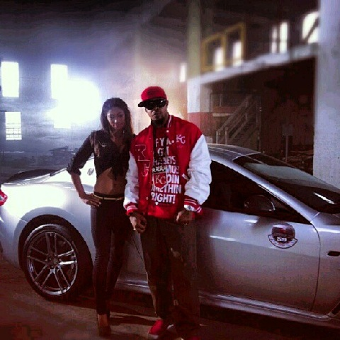"Kutt Calhoun On Set For ""Strange $"""
