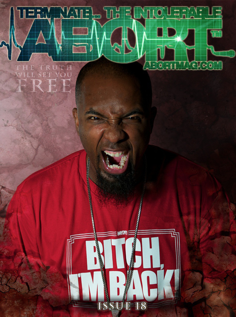 Tech N9ne - Abort Magazine Issue 18