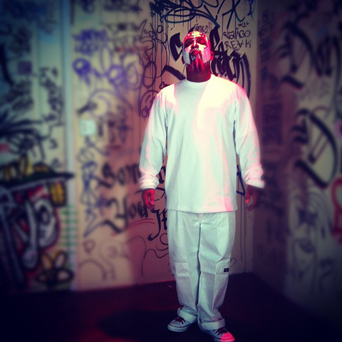 "Tech N9ne On Set Of ""URALYA"""