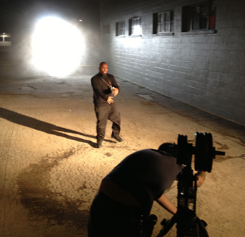 "Tech N9ne On Set For ""URALYA"""