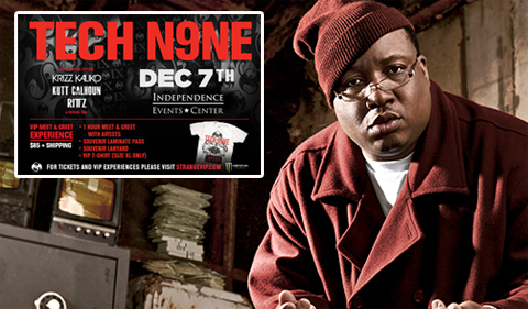 E-40 LIVE At Tech N9ne's 'The Gift Of Rap 2012'!