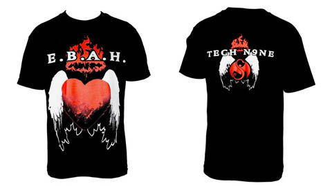 Tech N9ne - Black E.B.A.H. T-Shirt