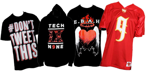 Our Ten Favorite Tech N9ne Merch Items On Sale Right Now!