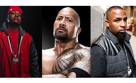 The Rock Pushes The Pace With Stevie Stone And Tech N9ne