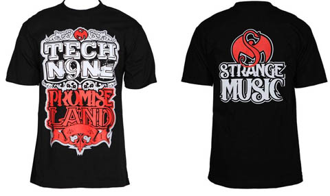 Tech N9ne - Black Promise Land T-Shirt