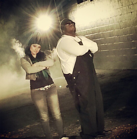 "On Set Of Krizz Kaliko's ""Damage"" Featuring Snow Tha Product"