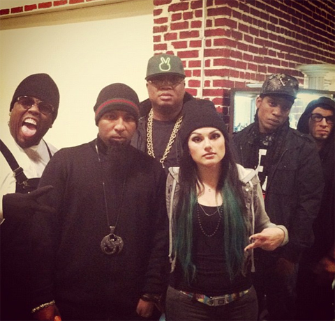 Krizz Kaliko, Tech N9ne, E-40, Snow Tha Product, And CES Cru