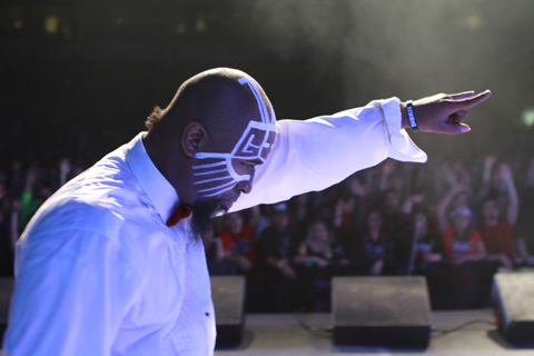 Tech N9ne Live At Gift Of Rap 2012