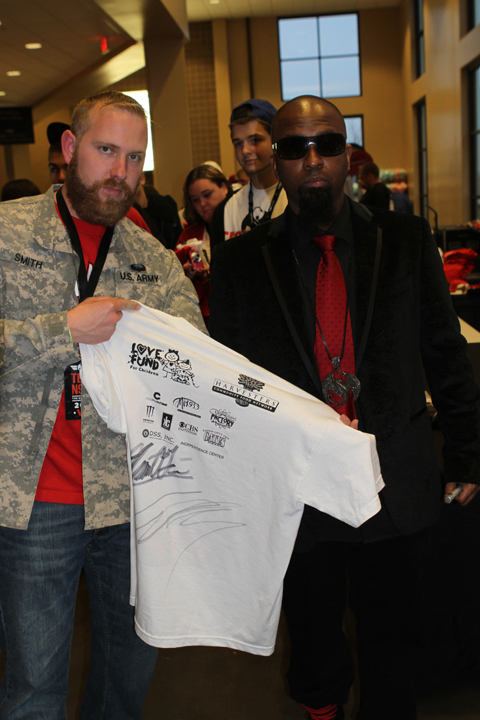 Tech N9ne Meets With Fans At Gift Of Rap 2012
