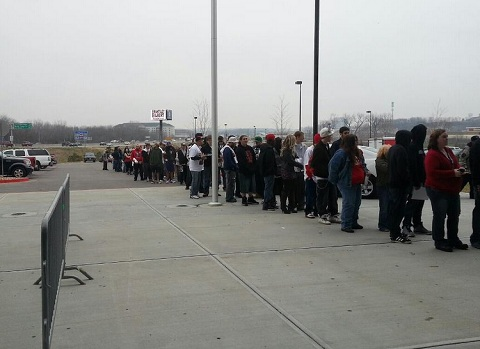 VIP Line At Gift Of Rap 2012
