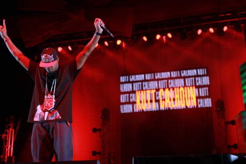 Kutt Calhoun  Live At Gift Of Rap 2012