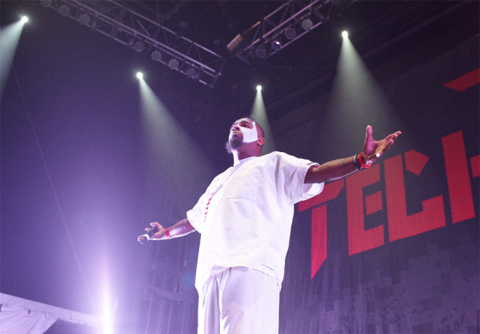 The Examiner Shows Tech N9ne's Angel Heart For Gift Of Rap 2012!