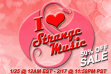 I Love Strange Music Sale