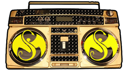 Strange Music Ghetto Blaster