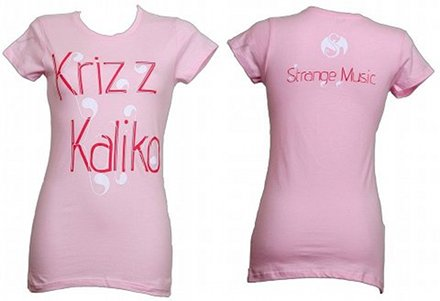 Krizz Kaliko - Ladies Pink Flow T-Shirt