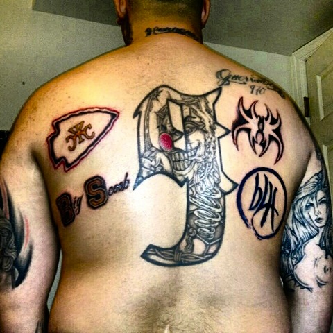 Strange Music Fan Tattoos