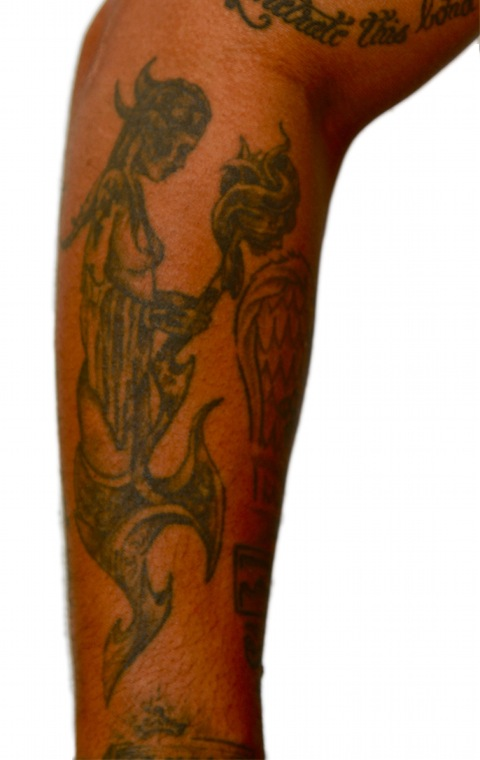 Right Forearm - Angel