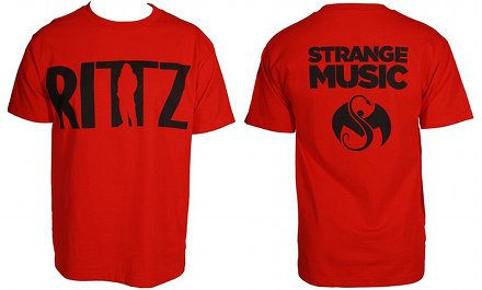 Rittz - Red Logo T-Shirt