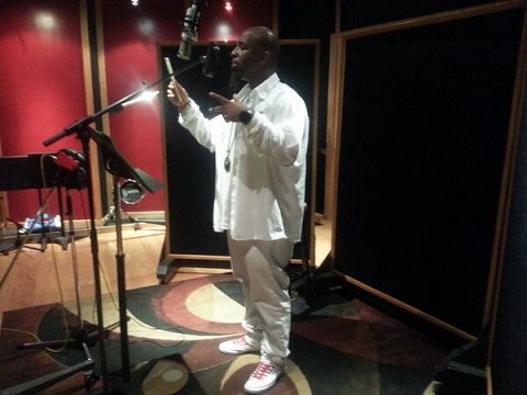 Tech N9ne In The Studio