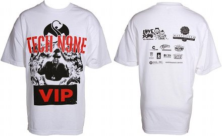 Tech N9ne - White Gift Of Rap T-Shirt
