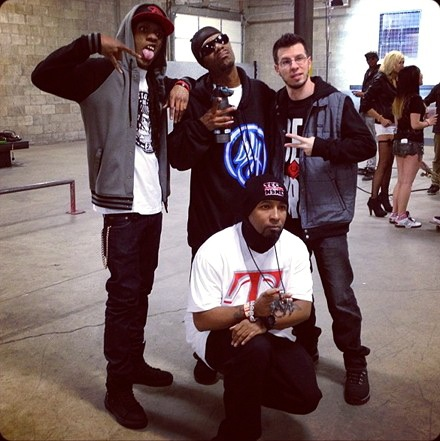 CES Cru, Tech N9ne and Brotha Lynch Hung