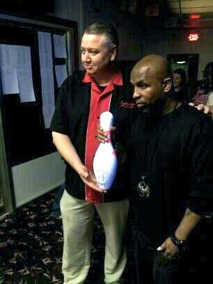 Tech N9ne and Bowling Pin