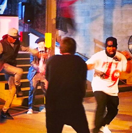 "CES Cru ""Juice"" Video Shoot - Tech N9ne"