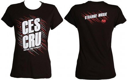 CES Cru - Ladies Black Streaks T-Shirt