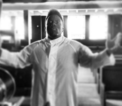 Krizz Kaliko On Set