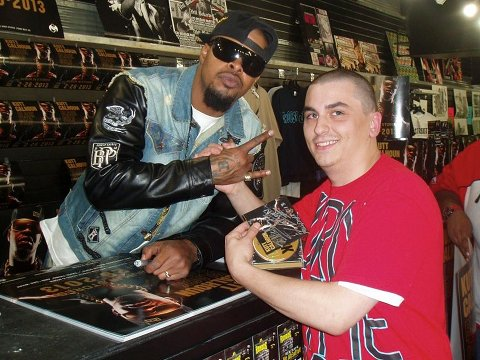Kutt Calhoun - Black Gold - 7th Heaven In-Store Signing