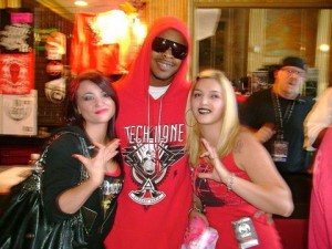 Kutt Calhoun and Fans