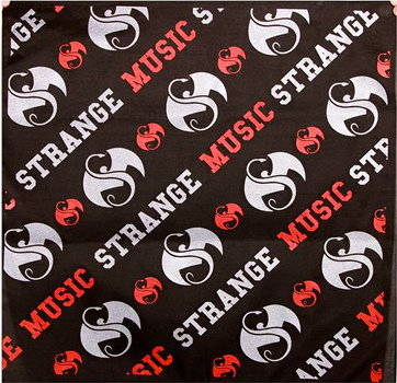 Strange Music - Black 2013 Bandana