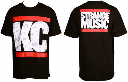 Strange Music - Black KC T-Shirt