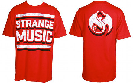 Strange Music - Red Inset T-Shirt