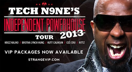 Tech N9ne Independent Powerhouse Tour 2013