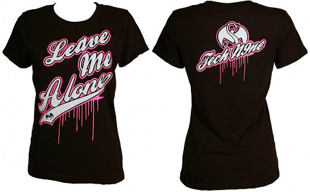 Tech N9ne - Ladies Black Leave Me Alone T-Shirt