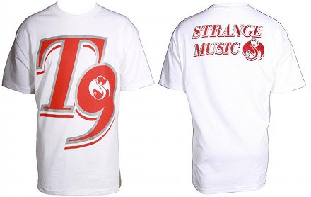Tech N9ne - White Big 9 T-Shirt