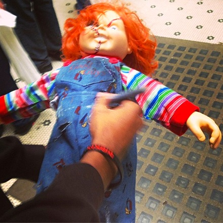 Chucky Doll Autographed By Thizz