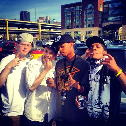 Trizz, Godemis and Fans - Worcester, MA