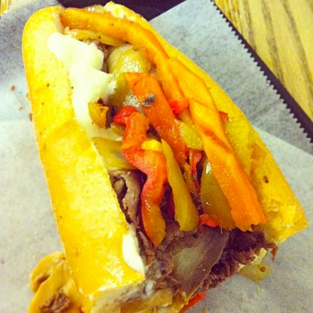Rittz's Philly Cheesesteak