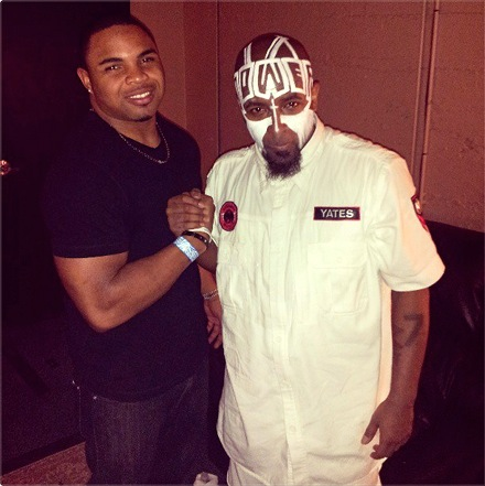 Tech N9ne and Pro Bowl Running Back Doug Martin