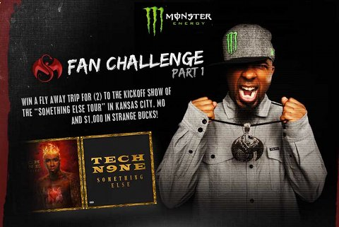 Tech N9ne - Monster Energy Contest