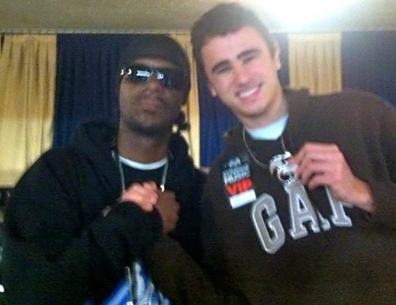 Brotha Lynch Hung and Arthur Guedes