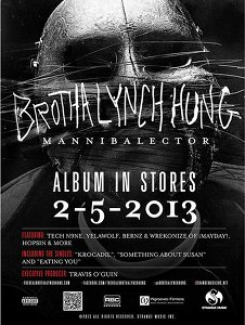 Brotha Lynch Hung - Mannibalector Poster