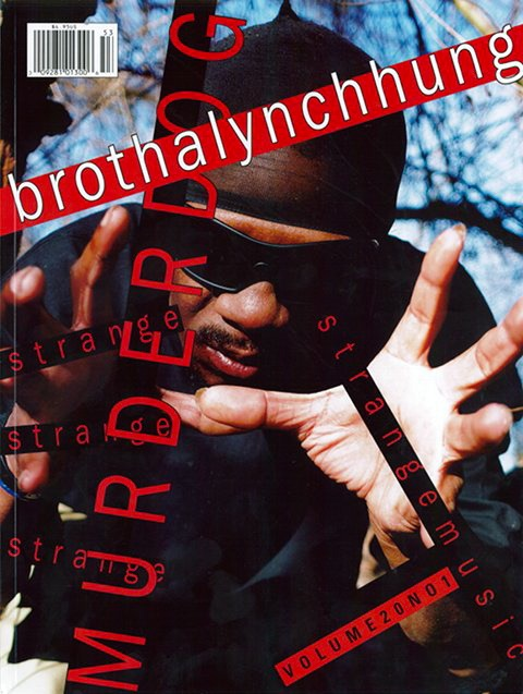 Brotha Lynch Hung Murder Dog Cover