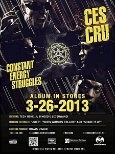 CES Cru - Constant Energy Struggles Poster